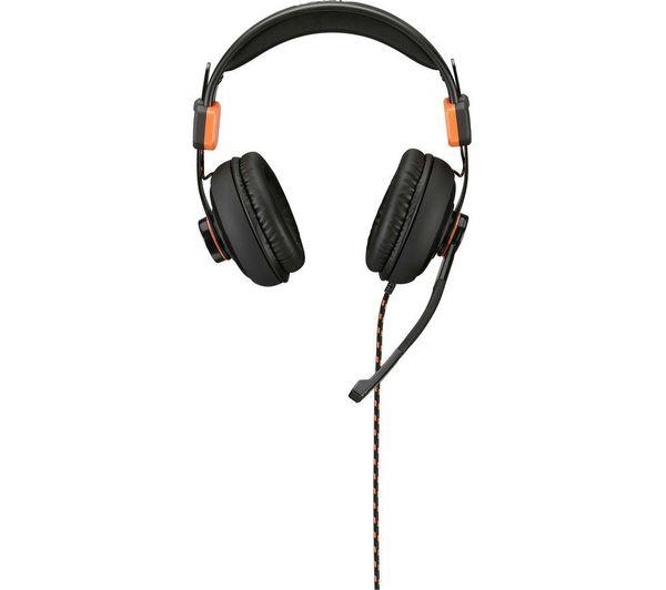 ADX Firestorm A01 Gaming Headset - Black & Orange