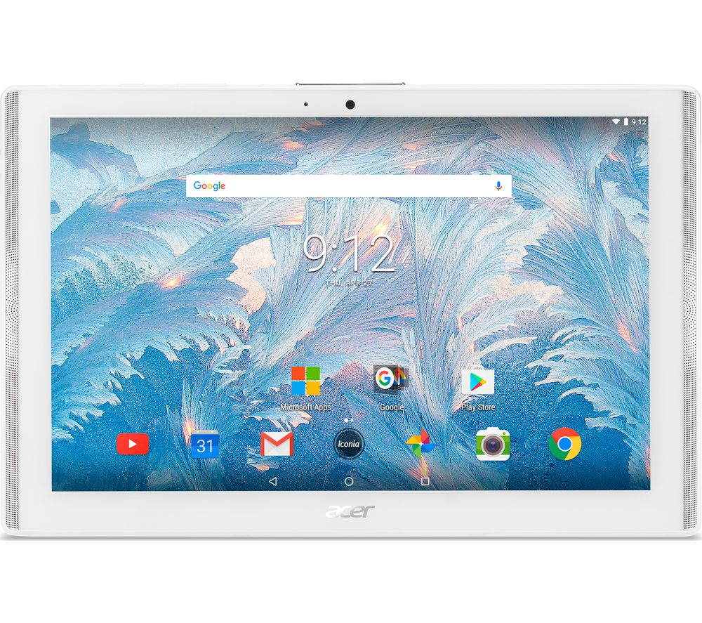 "ACER Iconia One 10 B3-A40 10.1"" Tablet - 16 GB, White"
