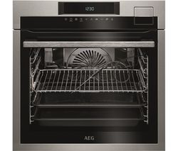 AEG SenseCook BSE792320M Electric Steam Oven - Stainless Steel