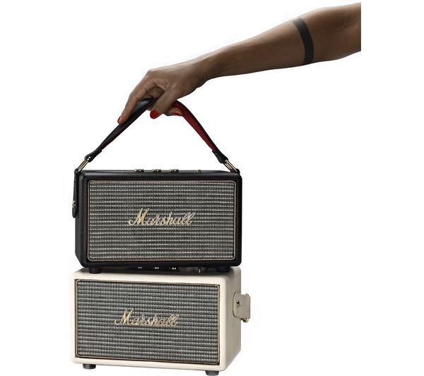 Marshall Bluetooth Speaker Portable: Buy MARSHALL Kilburn Portable Bluetooth Wireless Speaker - Black
