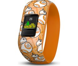 GARMIN vivofit jr 2 Kid's Activity Tracker - BB-8, Stretchy Band