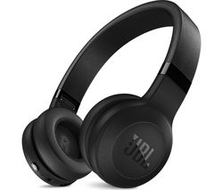 JBL C45BT Wireless Bluetooth Headphones - Black