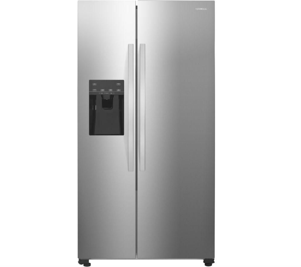 KENWOOD American-Style Fridge Freezer - Inox KSBNDIX18