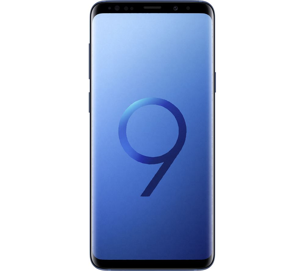 SAMSUNG Galaxy S9+ - 128 GB, Coral Blue