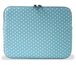 "GOJI 14"" Laptop Sleeve - Blue & White"