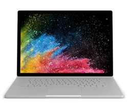 "MICROSOFT Surface Book 2 15"" - 512 GB, Silver"