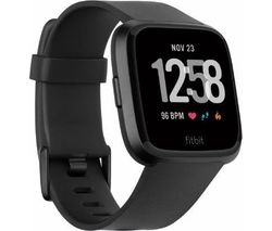 FITBIT Versa Classic Band - Black, Large