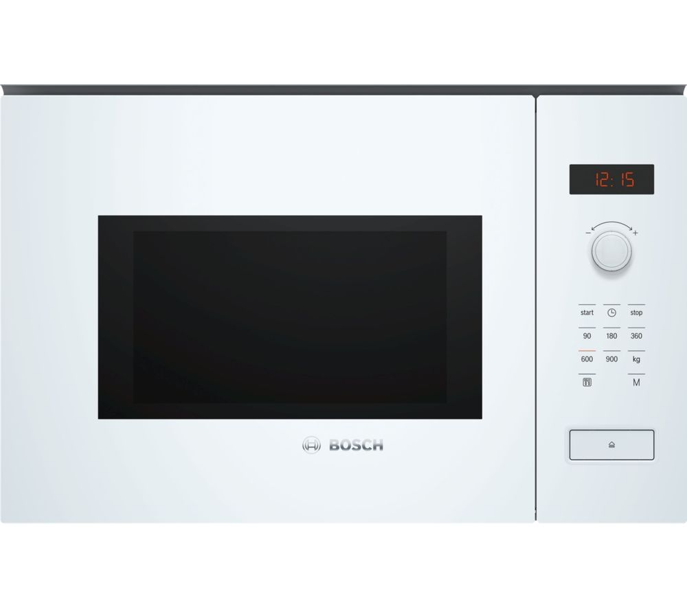 BOSCH BFL553MW0B Built-in Solo Microwave - White