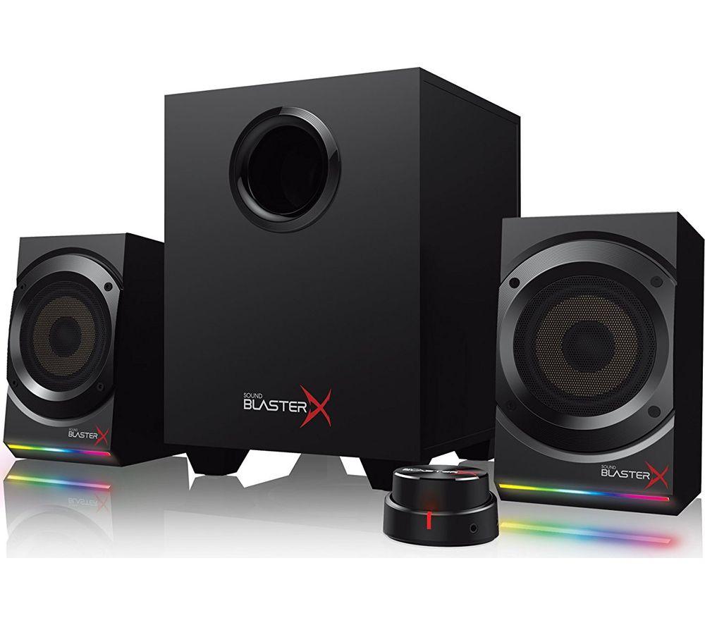 CREATIVE Sound BlasterX Kratos S5 2.1 PC Speakers