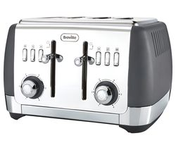 BREVILLE Strata VTT764 4-Slice Toaster - Grey