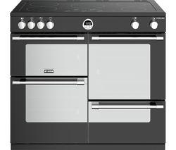 STOVES Sterling S1000Ei BK 100 cm Electric Induction Range Cooker - Black