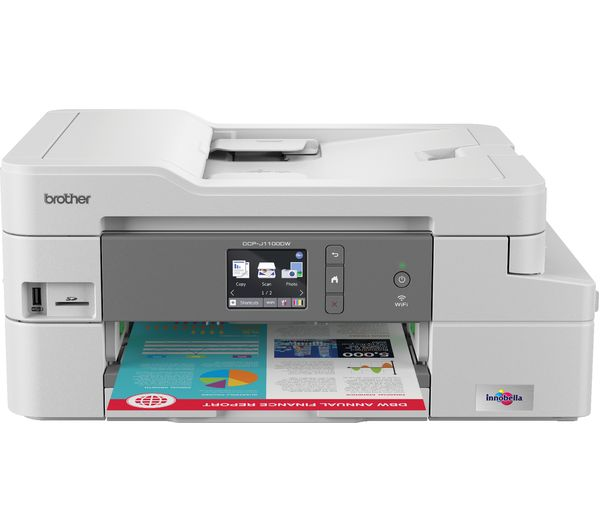 Image of BROTHER DCPJ1100DW All-in-One Wireless Inkjet Printer