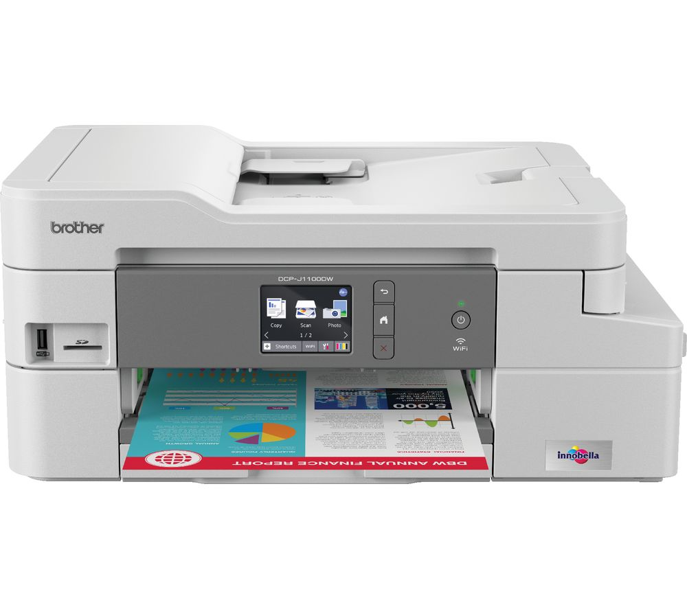 BROTHER DCP-J1100DW All-in-One Wireless Inkjet Printer