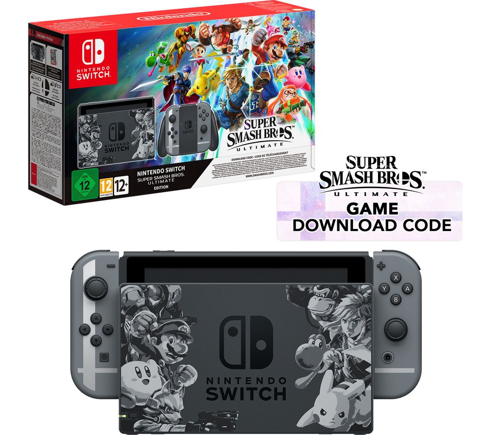 NINTENDO Switch with Super Smash Bros. Ultimate