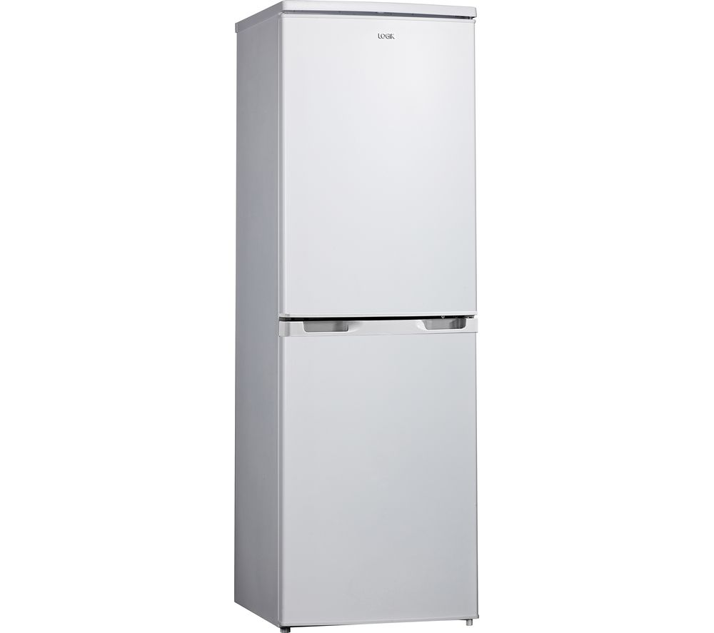 LOGIK LFC50W19 70/30 Fridge Freezer - White, White