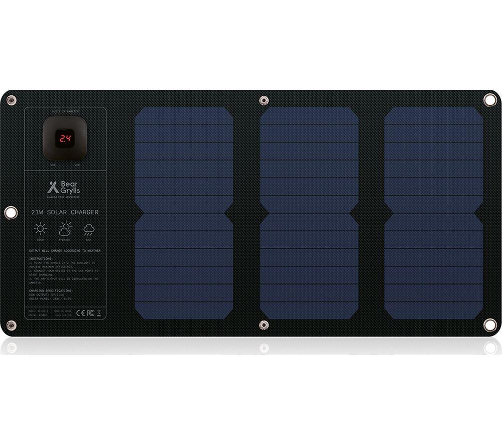 BEAR GRYLLS BG-SML-1 Solar Charging Mat - Black