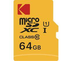 Extra Class 10 microSDXC Memory Card - 64 GB