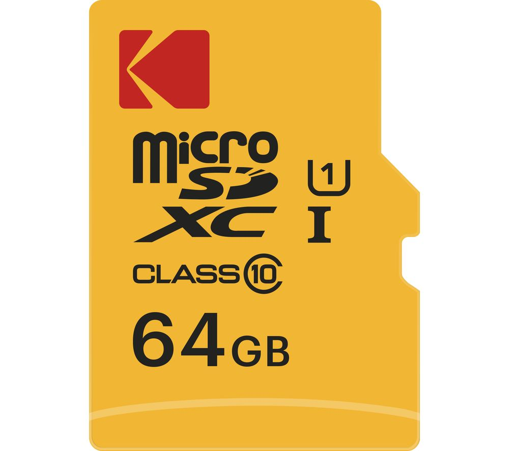 Image of KODAK Extra Class 10 microSDXC Memory Card - 64 GB