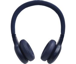 JBL LIVE 400BT Wireless Bluetooth Headphones - Blue