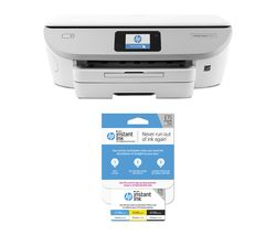 HP ENVY Photo 7134 All-in-One Wireless Inkjet Printer & Instant Ink £15 Prepaid Card Bundle
