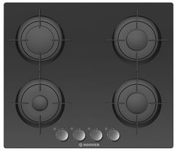HOOVER HGV64SMB Gas Hob - Black