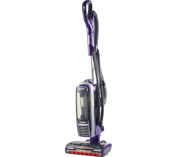 Image of SHARK DuoClean Powered Lift-Away Anti Hair Wrap AZ910UK Upright Bagless Vacuum Cleaner - Purple