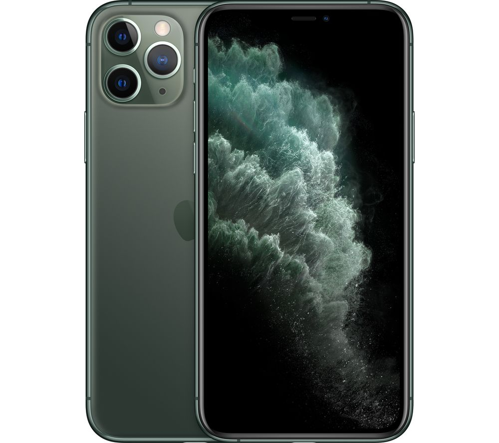 APPLE iPhone 11 Pro - 64 GB, Midnight Green