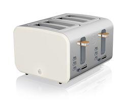 Nordic ST14620WHTN 4-Slice Toaster - White