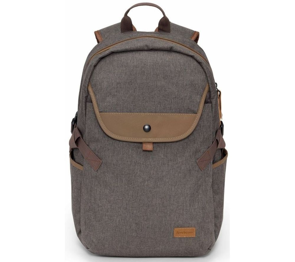 "Image of SANDSTROM S15BPBN20 15.6"" Laptop Backpack - Brown, Brown"