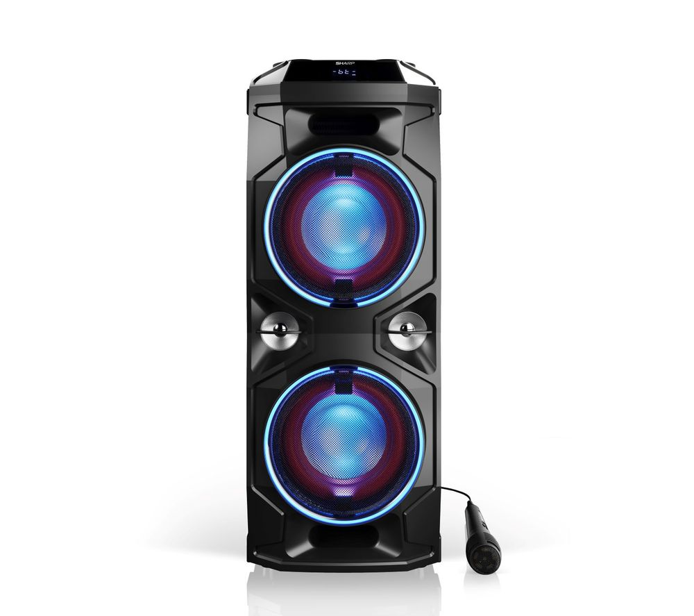 SHARP PS-940 Portable Bluetooth Party Speaker - Black