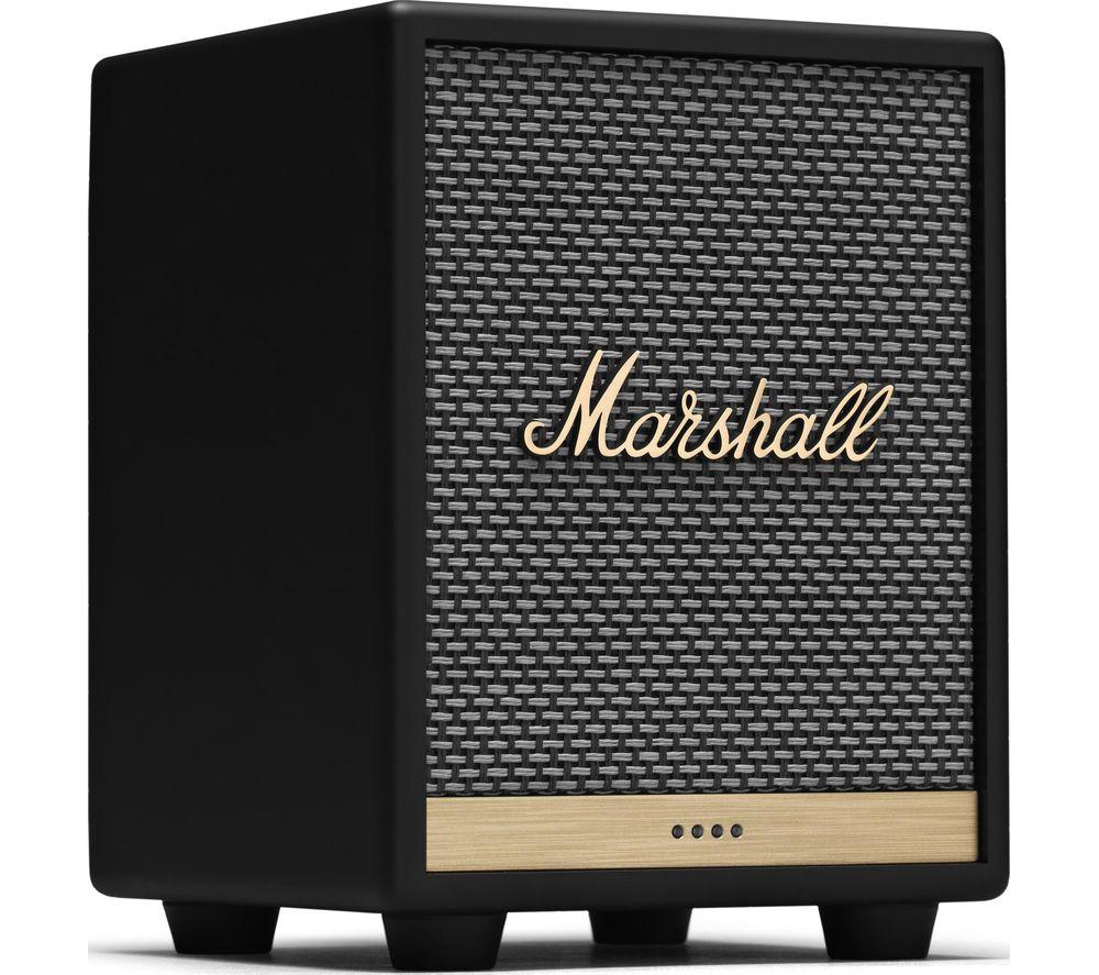 MARSHALL Uxbridge Voice Wireless Multi-room Speaker with Amazon Alexa - Black