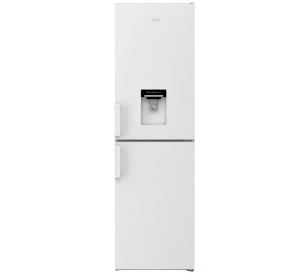 BEKO CXFP3582DW 50/50 Fridge Freezer - White, White