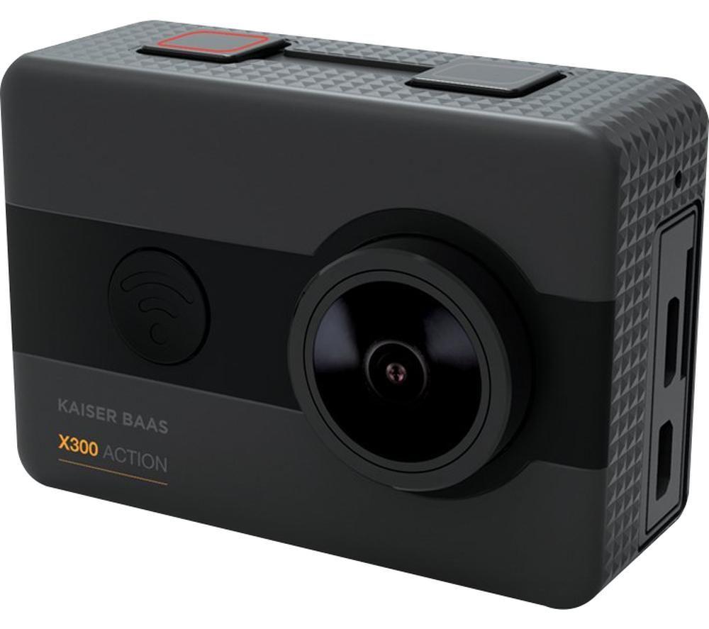 KAISER BAAS X300 2.5K Action Camera - Black