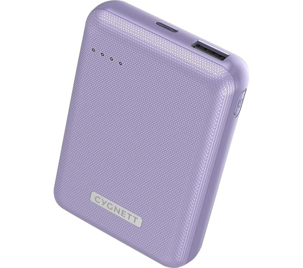 CYGNETT ChargeUp Reserve Portable Power Bank - Purple