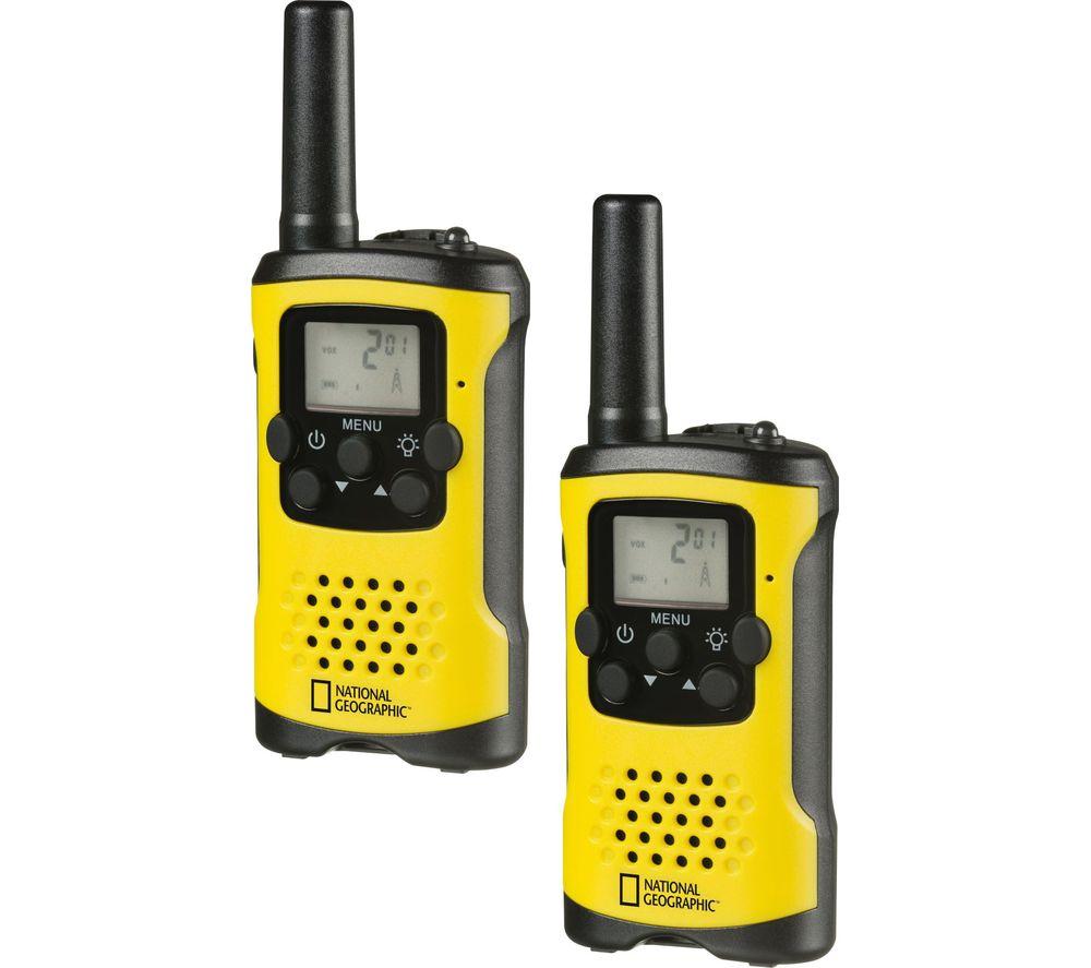 NAT. GEOGRAPHIC NG-9111400 Walkie Talkie - Twin