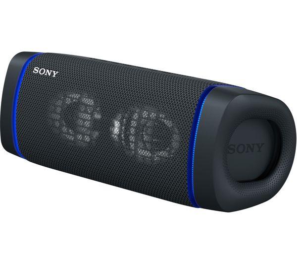 Image of SONY SRS-XB33 Portable Bluetooth Speaker - Black