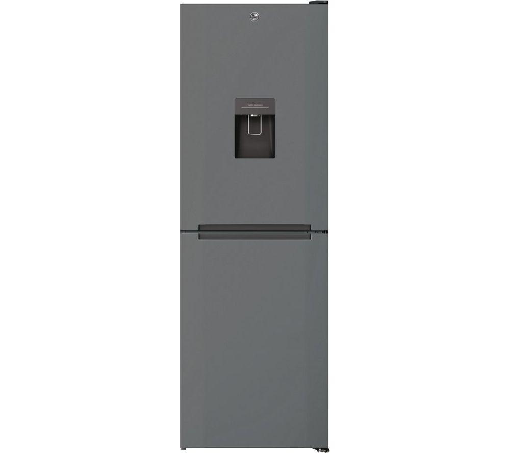 HOOVER H-Fridge 500 HMNB 6182 X5WDKN 50/50 Fridge Freezer - Stainless Steel