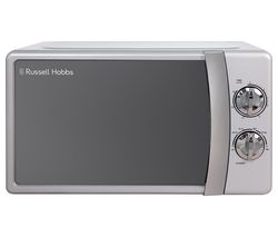 RUSSELL HOBBS RHMM701S-N Solo Microwave - Silver Best Price, Cheapest Prices