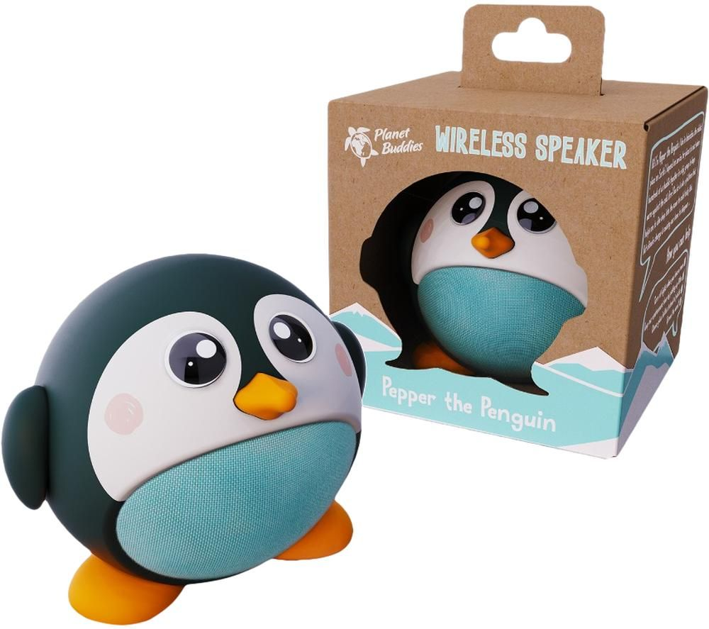 PLANET BUDDIES PBPGSP Portable Bluetooth Speaker - Pepper the Penguin