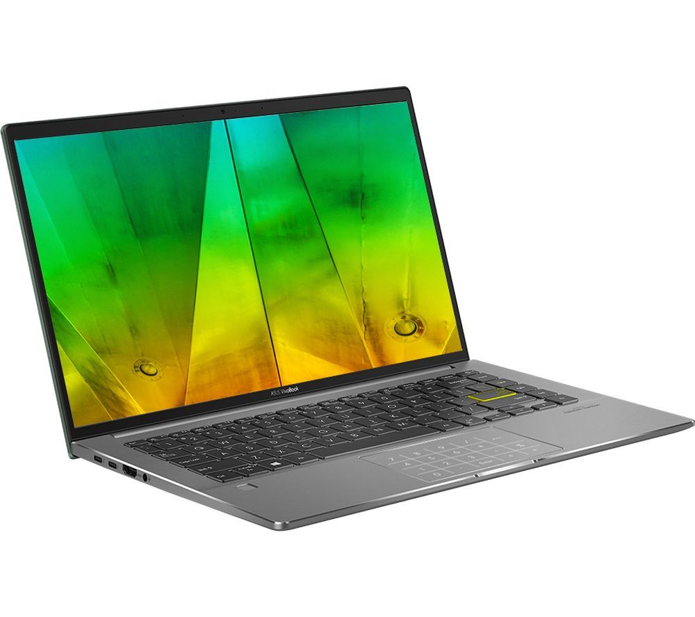 "Image of ASUS VivoBook S14 S435EA 14"" Laptop - Intel®Core™ i5, 512 GB SSD, Deep Green, Green"