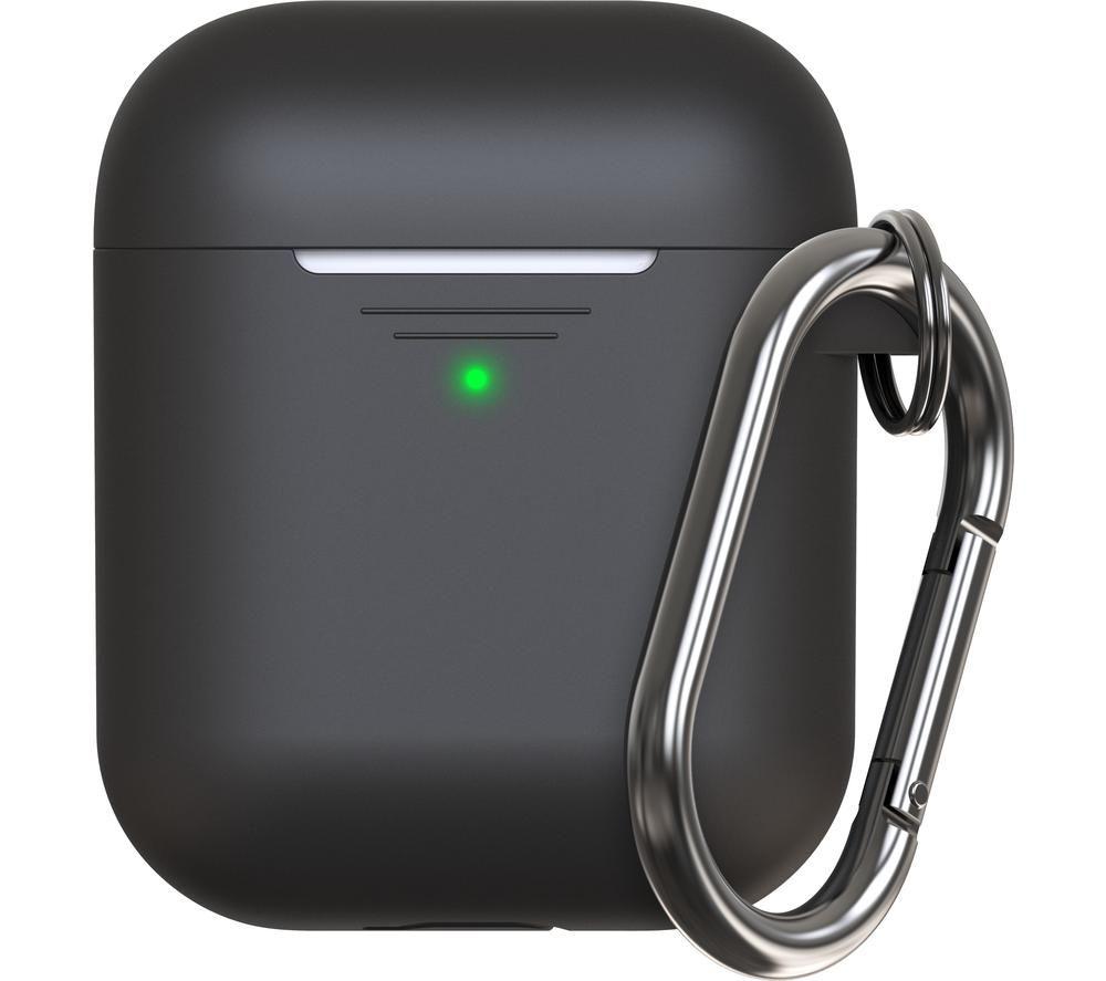 KEYBUDZ Elevate AirPods Protective Keychain Case - Black, Black