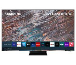 "QE75QN800ATXXU 75"" Smart 8K HDR Neo QLED TV with Bixby, Alexa & Google Assistant"