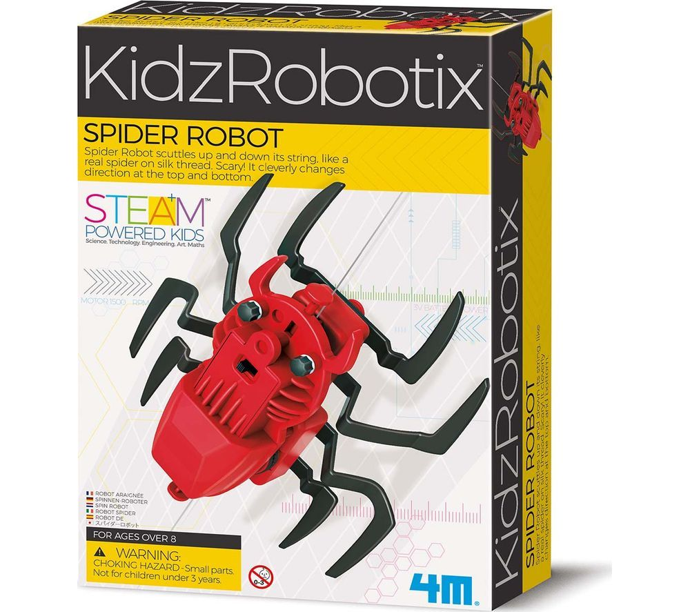 KIDZROBOTIX Spider Robot Science Kit