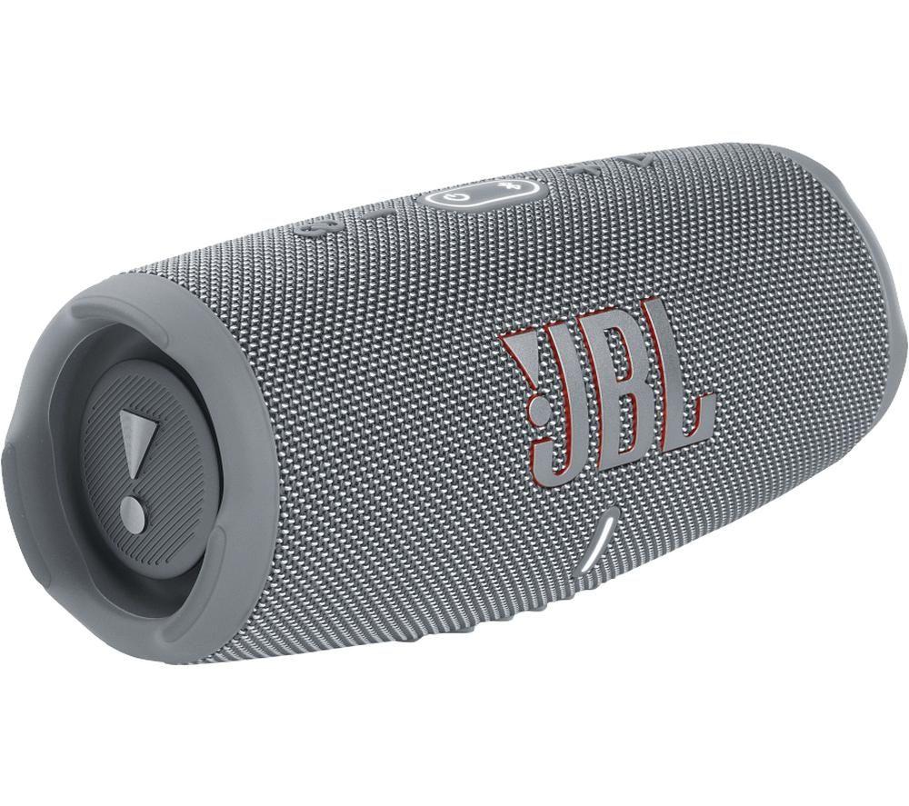 JBL Charge 5 Portable Bluetooth Speaker - Grey
