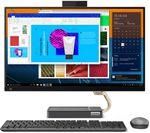 £999, LENOVO IdeaCentre AIO 5i 27inch All-in-One PC - Intel® Core™ i5, 512 GB SSD, Grey, Intel® Core™ i5-10400T Processor, RAM: 8GB / Storage: 512GB SSD, Quad HD display,
