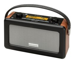 Vintage Portable DAB Radio - Black