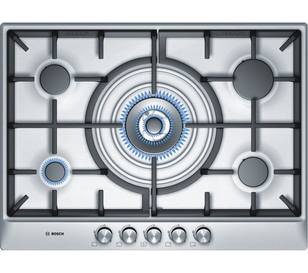 Bosch Classixx Pcq715b90e Gas Hob Brushed Steel Fast Delivery Washing Machine Wiring Diagram