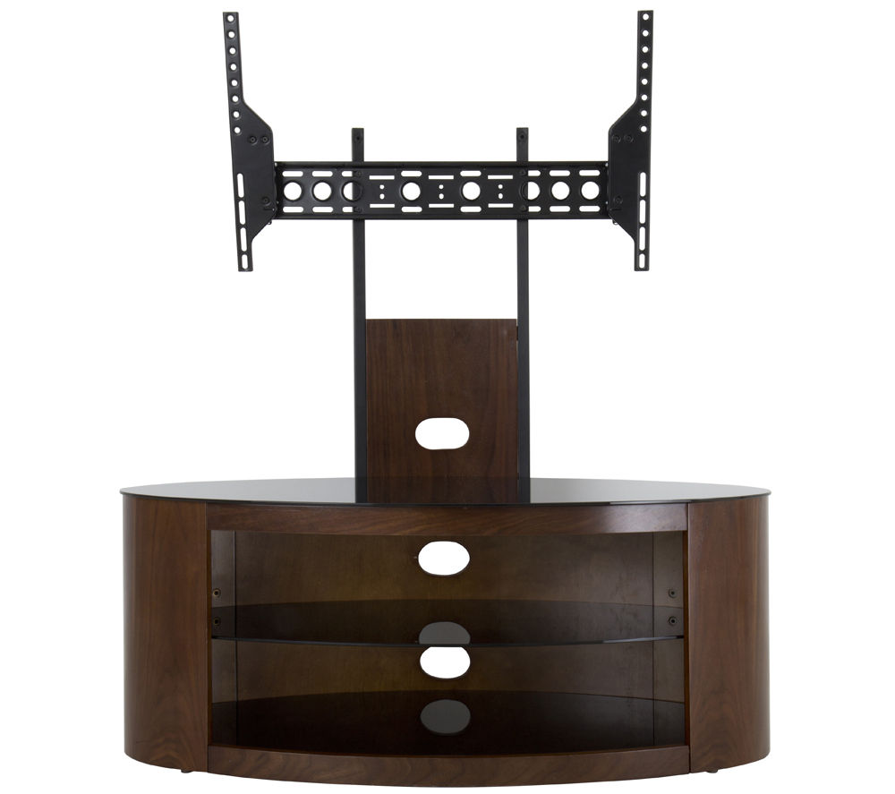 Avf Buckingham 1000 Tv Stand With Bracket Walnut 163 299