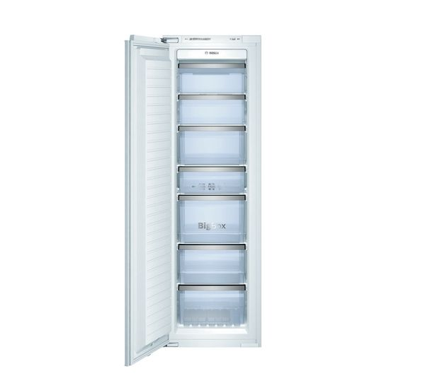 BOSCH Serie 8 GIN38A55GB Integrated Tall Freezer