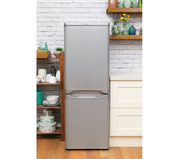 Buy Hotpoint Nrfaa50s 60 40 Fridge Freezer Silver Free